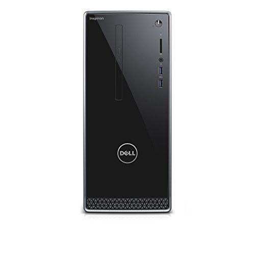Dell Inspiron i3650 3111SLV Desktop Intel Core i3 6 GB RAM 1 TB HDD Silver No Monitor Included
