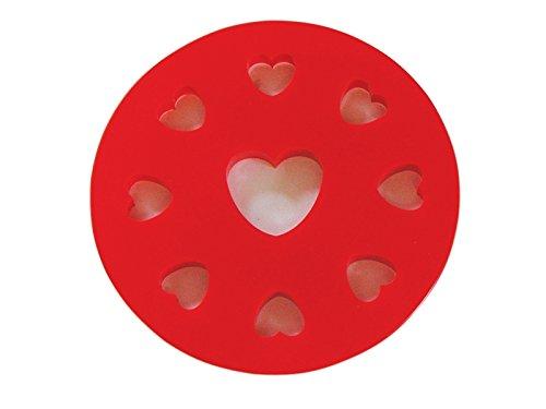 R&M International 2730 Mini Pie Topper Cutter, Heart, 5