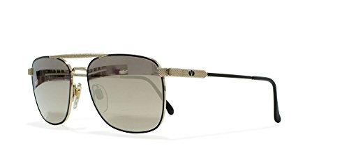 Valentino V429 917 Gold Vintage Sunglasses Square For - Valentino Vintage Sunglasses