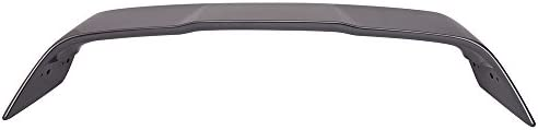 Trunk Spoiler Compatible With 2008-2017 Mitsubishi Lancer EVO X 10 Painted #A17 Warm Sand Metallic ABS Rear Spoiler Tail Lip Deck Boot Wing IKON MOTORSPORTS 2009 2010 2011 2015 2016