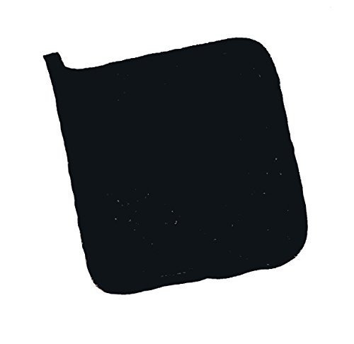 ritz-cltph8bk-terry-pot-holder-8-x-8-black-pack-of-12-pairs