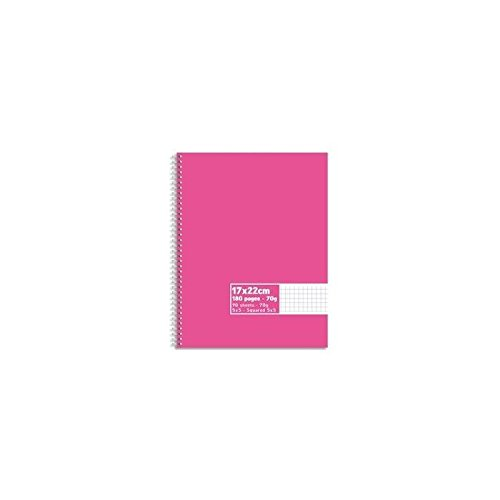 PLEIN CIEL Cahier reliure int/égrale 180 pages 70g 5x5 17x22 Couverture carte assortis