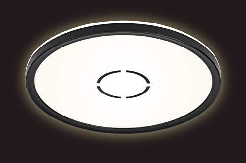 Blanc chrom/é 12 Watt 1 200 Lumen Briloner Leuchten 3403-018 plafonnier LED IP44 Lampe de Salle de Bain avec d/écor d/étoiles DxH 280x70mm 4 000 Kelvin /éclairage