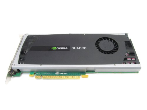 HP 707253-001 NVIDIA Quadro 4000 PCIe 2GB GDDR5 graphics memory - With 1 Dual Link DVI-I and 2 DisplayPort ports - Maximum display resolution 2, 560 x 1, 600 pixels at 60Hz by NVIDIA (Image #2)