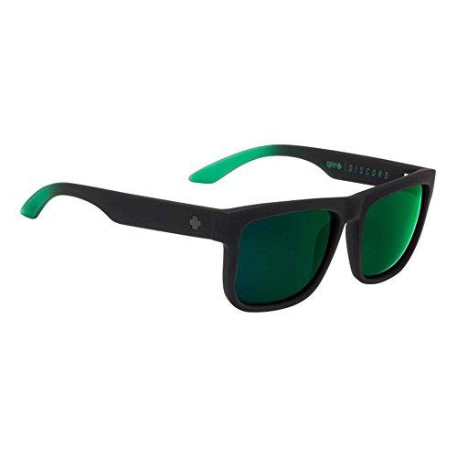 Green Gray Happy de Wayfarer Soft Black Green Discord Homme Spy Matte Lunette Fade soleil FxPqw7O7