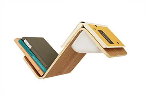 LiliLite Bookshelf Reading Light, The All-in-One Book Lamp, Shelf, and Mark