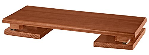 Folding Footrest by OakRidge - Mahogany (Foot Wooden Rest)