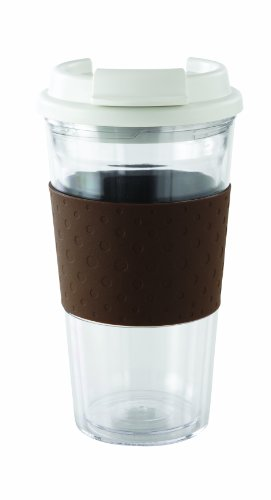 Copco 2510 0187 Copco Brew View Tritan Tumbler Brown For