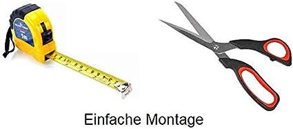 Nez de marche profil d/'angle PVC autoadh/ésif 50x40mm antid/érapant bande de bordure 150cm descalier-protection Noir