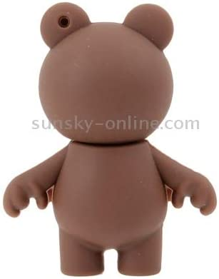 Color : Brown Special for All Kinds of Festival Day Gifts 8GB LYNHJCusb Flash Drive Mobile Storage Device Brown Bear Shape Silicone USB Flash Disk