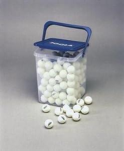 Tischtennisbälle Training SH - 144er Ballbox (weiß)