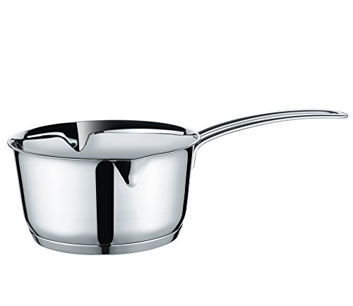 Stainless Clad Butter Warmer (Kuchenprofi K2370502818 Stainless Saucepan with Clad Bottom Butter Warmer, 1.4-Quart, Silver)