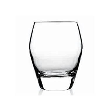 Luigi Bormioli Prestige DOF Glass, 15-Ounce, Clear, Set of 4