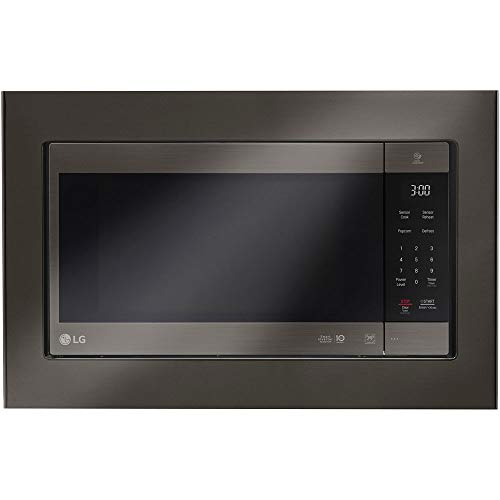 "LG 30"" Built-in Trim Kit in Stainless Steel Black Stainless Steel"