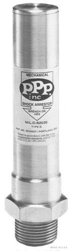 """PPP SC-750, 3/4"""" NPT, Threaded Water Hammer Arrestor"""