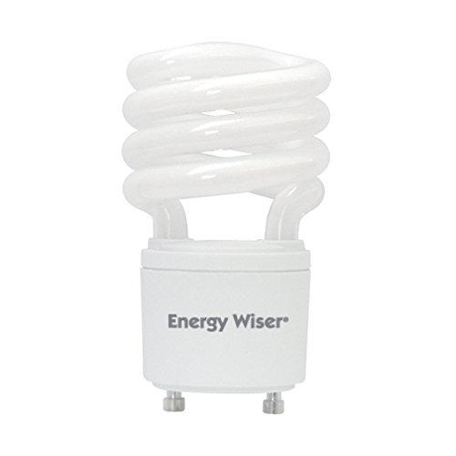 Bulbrite 509703 CF13WW/GU24/E 13W Energy Wiser Compact Fluorescent T3 Coil, Twist and Lock GU24 Base, 60W Equivalent, Warm White