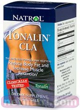 Natrol - Tonalin Cla, 1000mg, 60 softgels by Natrol
