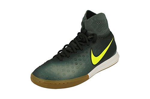 Nike 843955-374, Chaussures de Football en Salle Mixte Adulte Vert (Seaweed / Volt-hasta-mica Green)