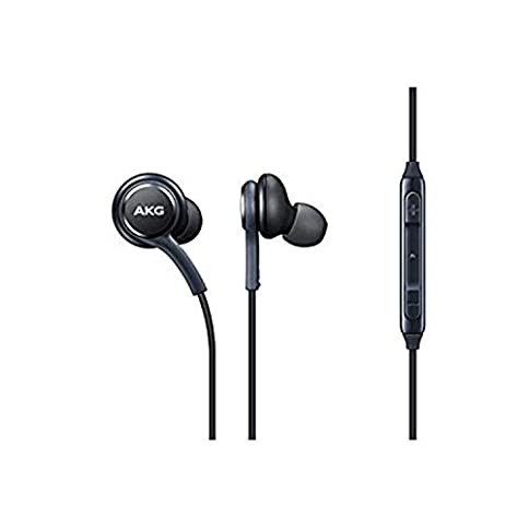 - 31UCR3ELeSL - OEM Stereo Headphones w/Microphone for Samsung Galaxy S8 S9 S8 Plus S9 Plus Note 8 – Designed by AKG – 100% Original