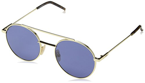 Sunglasses Fendi Men Ff 221/S 0000 Rose Gold/KU blue avio lens ()