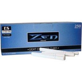 Zen Light 100mm Cigarette Tubes (250 ct/box) 10 boxes