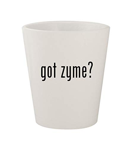 got zyme? - Ceramic White 1.5oz Shot - Nutri Chewable Vitamins