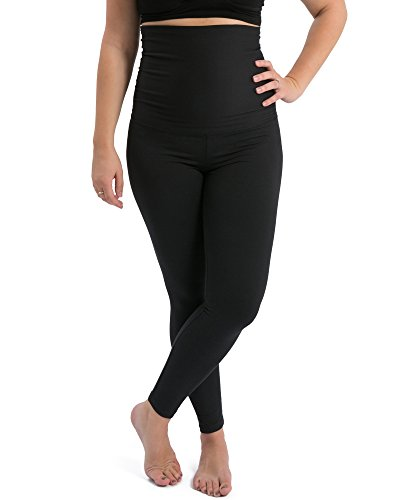 Kindred Bravely The Louisa Ultra High-Waisted Over The Bump Maternity/Pregnancy Leggings (Black, Small) by Kindred Bravely