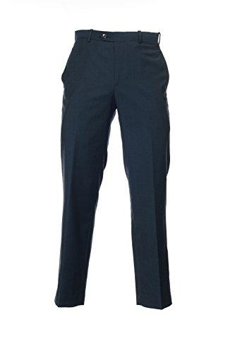 Alfani Navy Stripe - Alfani Red Navy Tonal Stripe Flat Front Wool New Men's Dress Pants (30W x 30L)