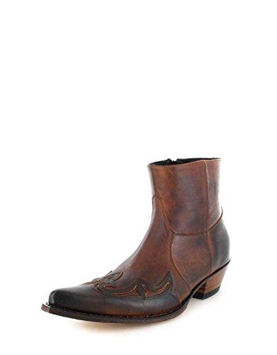 et adulte 7783 Tang Boots cowboy bottines mixte Marron Bottes Sendra TStxFHq5