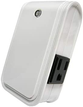 Everspring Z-Wave AD126 – Dual Outlet Smart Plug On Off Switch and Dimmer Plug, Z-Wave Hub Required.