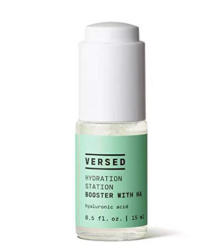 Versed Hyaluronic Acid Serum 0.5 Fl. Oz ! Hydrolyzed Hyaluronic Acid For Face! Moisturize And Hydrate Dry Skin! Cruelty Free, Paraben Free and Vegan! Choose Your Facial Treatment! (Hyaluronic Acid)