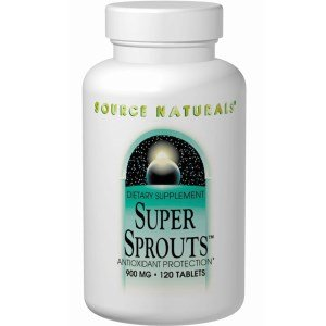 Source Naturals Super Sprouts 900mg, Powerful Antioxidant Enzyme Support, 120 Tablets