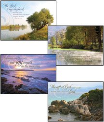 Gift Cards Boxed Scripture (Boxed Gift Cards Sympathy-Peaceful Reflections (12 Pack))