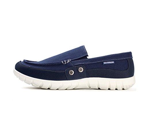 da di scuro scarpe uomo casual tela vecchie marea da Scarpe in uomo con uomo da una Pechino scarpe WFL scarpe stoffa degli pigro Blu uomini gamba sola estate traspirante w18qfAR