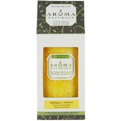 (Aroma Naturals Authentic Aromatherapy Candles - Ambiance (Orange & Lemongrass) (2.75x5) inch)