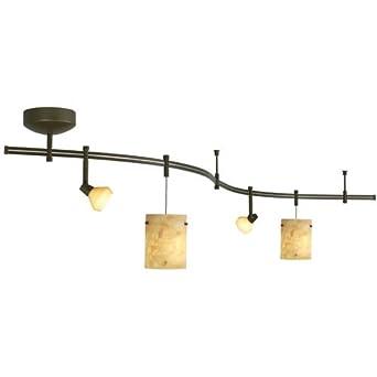 track lighting rail. tlarail kit 28in onyx bz track lighting rail g