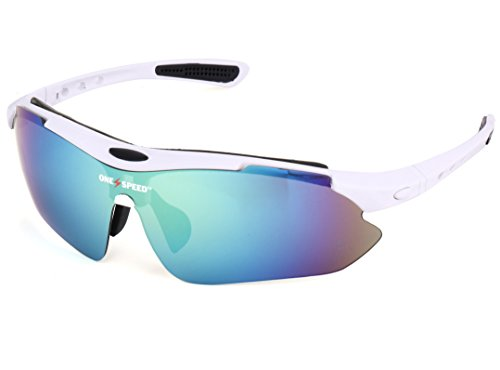 Polarized Sunglasses for Men & Women - Sport Sunglasses - Best Cycling Sunglasses | Running Sunglasses | Golf Sunglasses - Up Your Game with OneSpeed Sports - Sunglasses Color Best