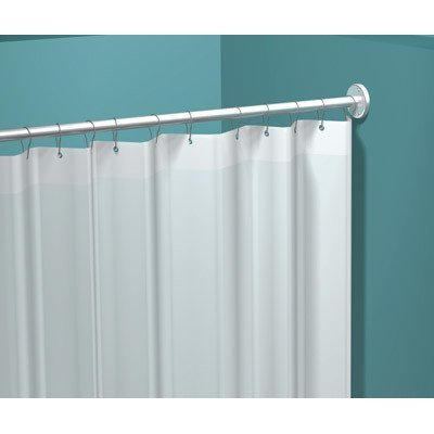 Attrayant Vinyl Shower Curtain Dimensions: 48u0026quot; ...