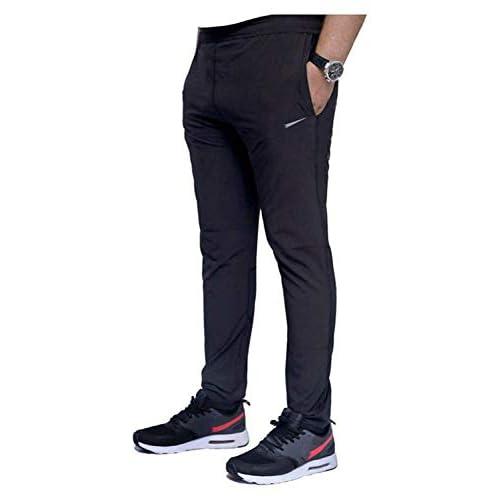 31UCiDZ9jxL. SS500  - Finz Men's Cotton Track Pants,Joggers, Night Wear Pajama,Sports Gym,Lower with Zip Pockets