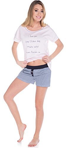 Italian Fashion IF Pijama para mujer Rubi 0227 Rosa