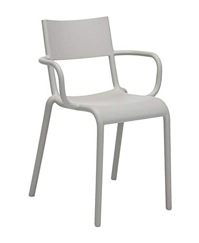 Swell Amazon Com Kartell Generic A Chair Grey 52 5 X 52 X 79 Cm Inzonedesignstudio Interior Chair Design Inzonedesignstudiocom
