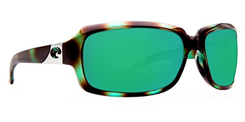 Costa Del Mar Isabela 580P Isabela, Shiny Seagrass Green Mirror, Green - Sunglasses Isabela Costa