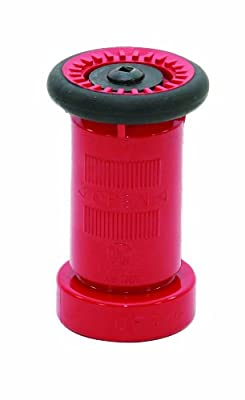 AMT Pump C336-90 Red Lexan Fire Hose Nozzle, 2""