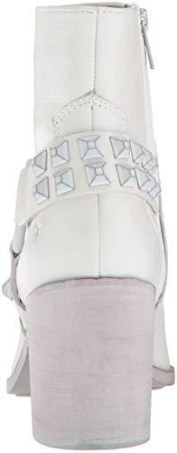White Short Stud Boot Ankle Flynn Harness Deco Women's FRYE BSaqx8