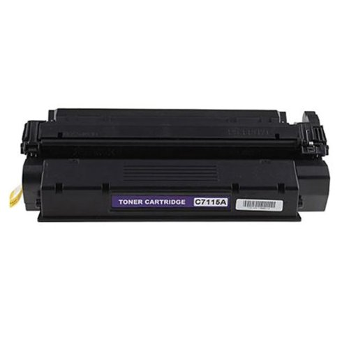 HI-VISION HI-YIELDS ® Compatible Toner Cartridge Replacement for Hewlett-Packard (HP) C7115A, Office Central