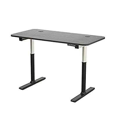 "ApexDesk Vortex Series 60"" 6-Button Electric Height Adjustable Sit to Stand Desk"