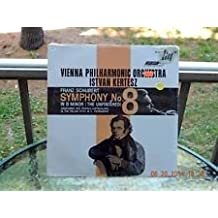 """Schubert: Sumphony No. 8 (""""Unfinished"""") & 3 Overtures/Istvan Kertesz, VPO"""