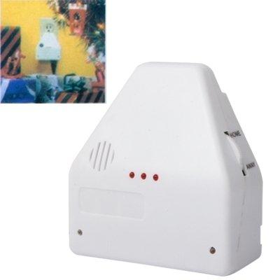 Wewoo Interrupteur électrique Blanc Commutateur on/Off Activé/Désactivé par Clap