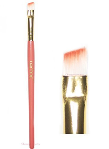 ANGLED SLANTED MAKEUP BRUSH - For Eyeshadow, Eyebrow, Eyeliner, Brow Powder by Technic Cosmetics