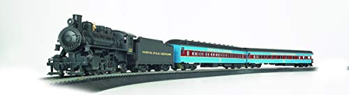 Bachmann Trains - North Pole Express Ready To Run Electric Train Set - HO Scale (Thoroughbred Train Set)